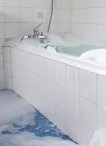How To Replace A Rotten Floor In Front Of A Bathtub Step By Step - Bathroom floor repair water damage for bathroom decor ideas