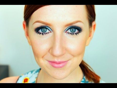 Beauty Icon 5 Twiggy 60 S Makeup Tutorial Youtube With
