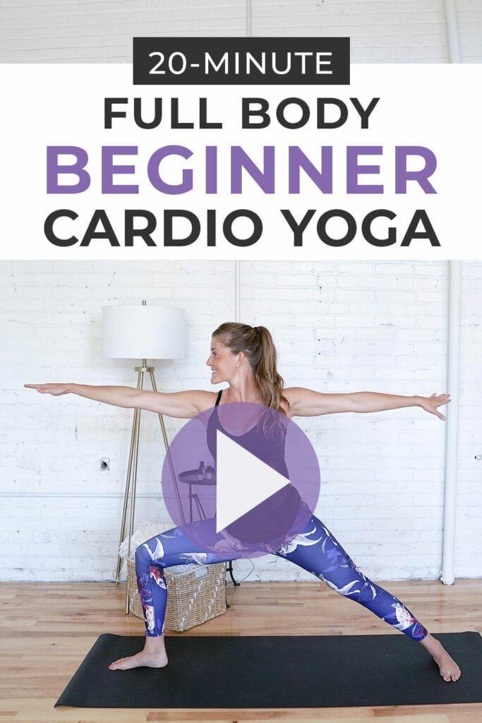 Beginner HIIT Cardio Yoga Workout | Nourish Move Love