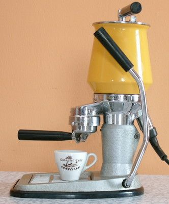 la peppina italienische espressomaschine 60 er jahre. Black Bedroom Furniture Sets. Home Design Ideas