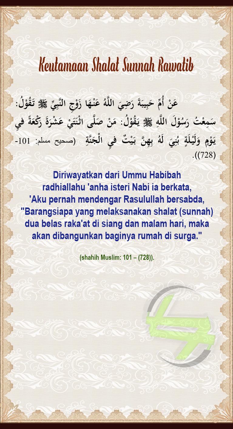 Shalat Sunnah Rawatib Adalah : shalat, sunnah, rawatib, adalah, Keutamaan, Shalat, Sunnah, Rawatib, Iman,, Kegembiraan,, Allah