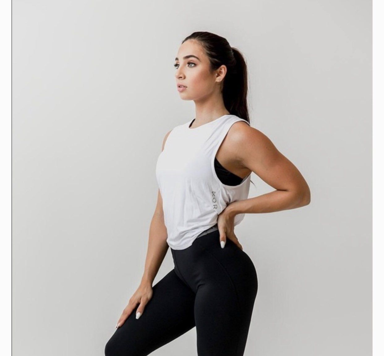 Kora Fitness Top Now Known As Acta Fitwear Size Medium Wore This 1 2 Times Perfect Condition No Discoloration Sti Workout Tops How To Wear Gymshark Shirt
