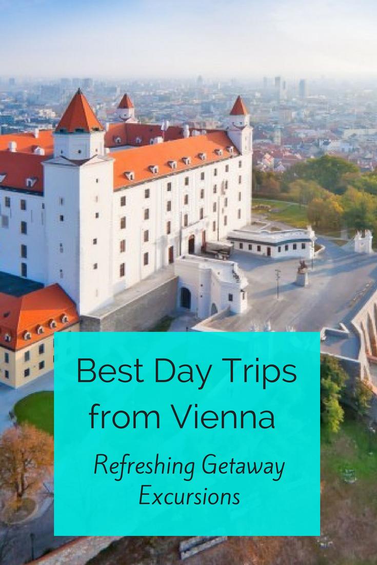 The BEST day trips from Vienna, Austria. Featuring Melk Abbey, Salzburg, Graz, Bratislava and more!