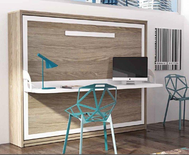 Lit escamotable bureau lit escamotable horizontal avec bureau bona