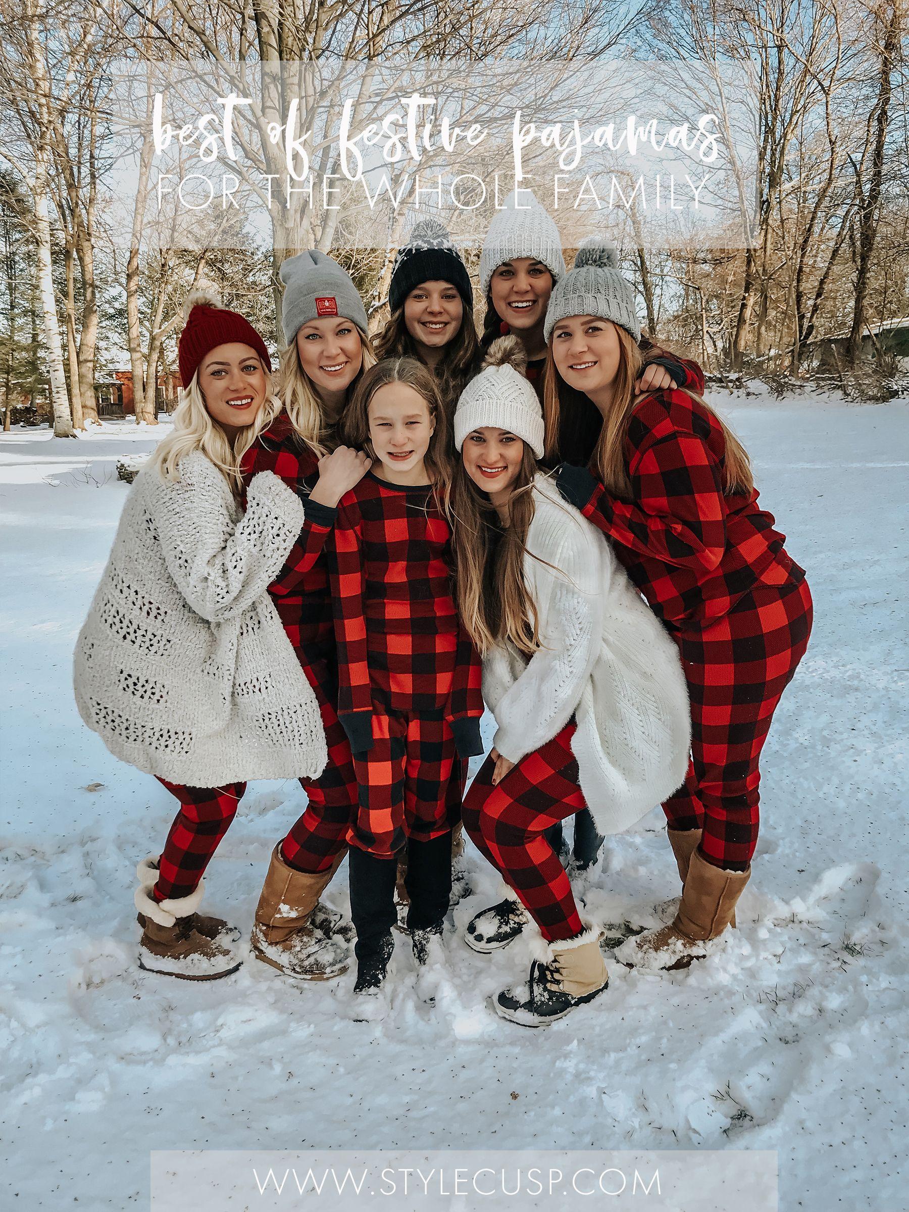 Best of 2019 Christmas Pajamas Style Cusp Christmas