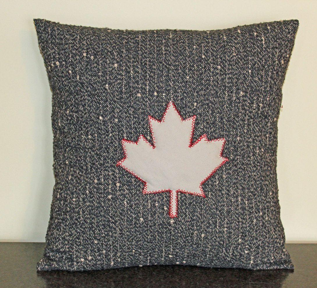 Canadian Inspired Home Decor Canada Pillow Via Etsy: Cushion Cover, Canada Day, Canada 150, Pillow Cover, Made