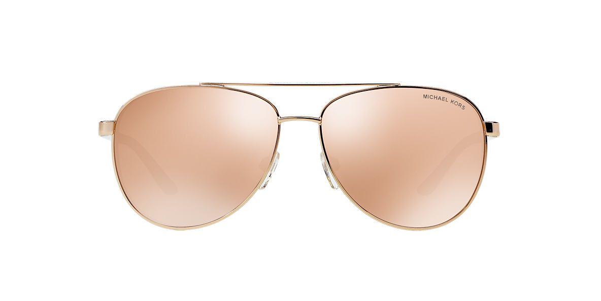 534fa0052f01 Michael Kors MK5007 HVAR 59 Gold   Rose Gold Sunglasses