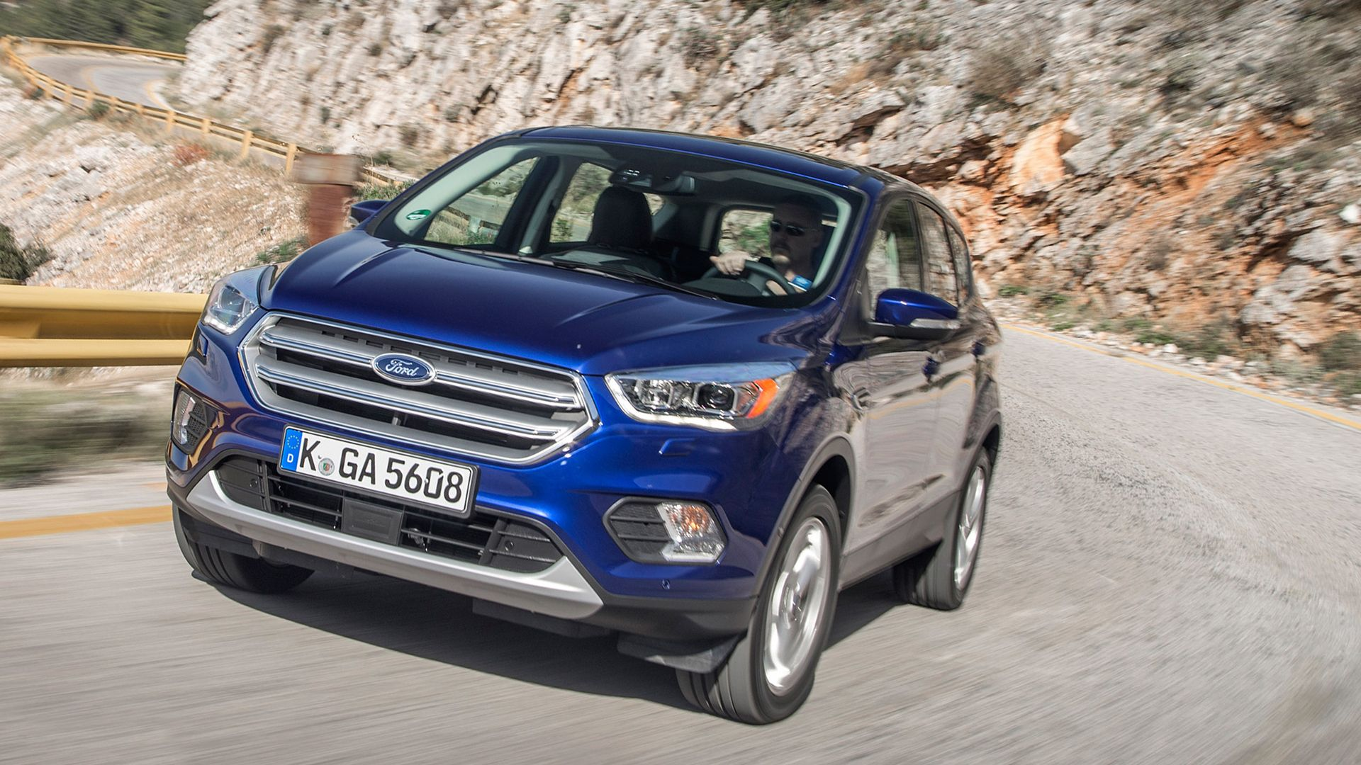 2019 Ford Kuga Test Drive On Road