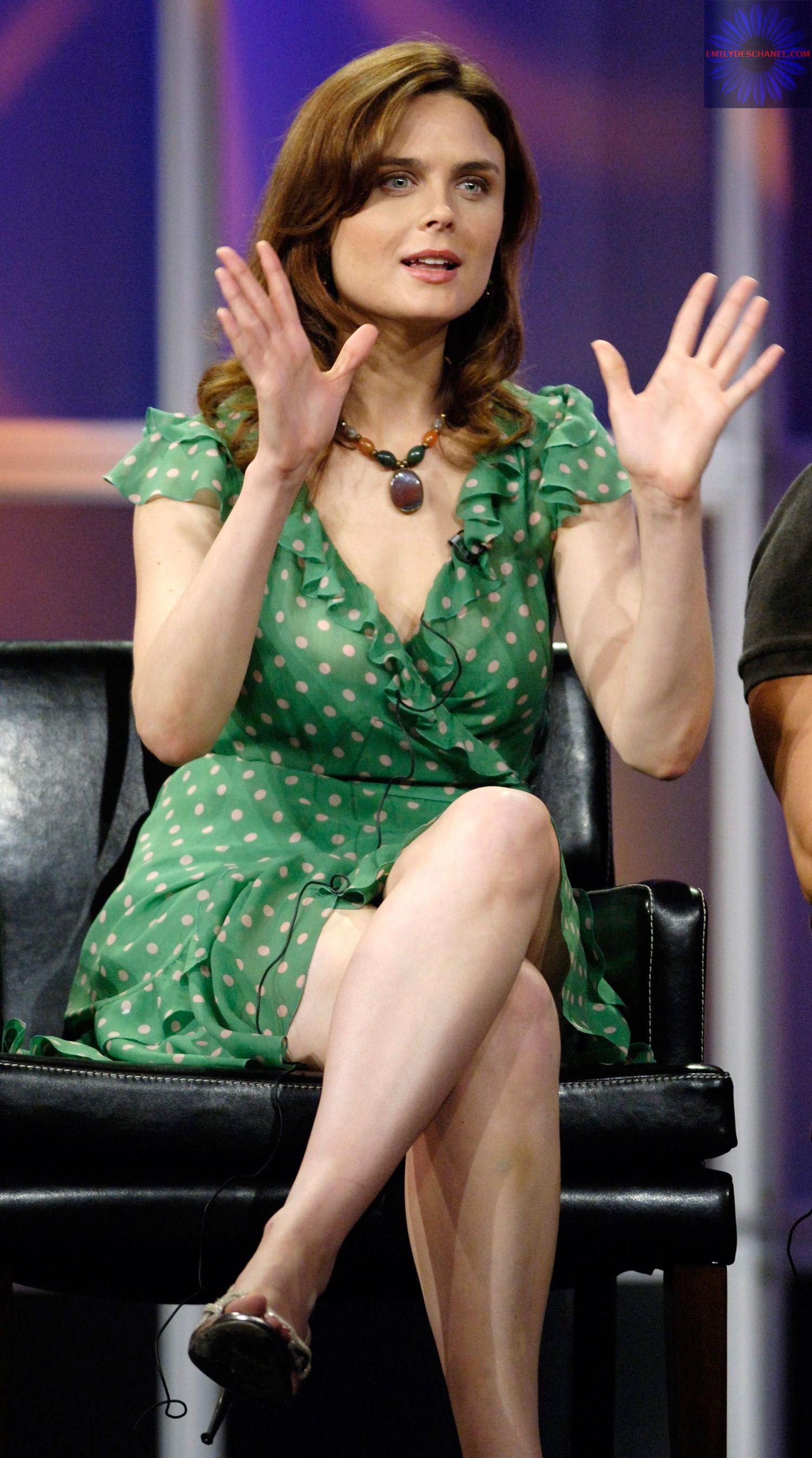 You will Emily deschanel feet and legs