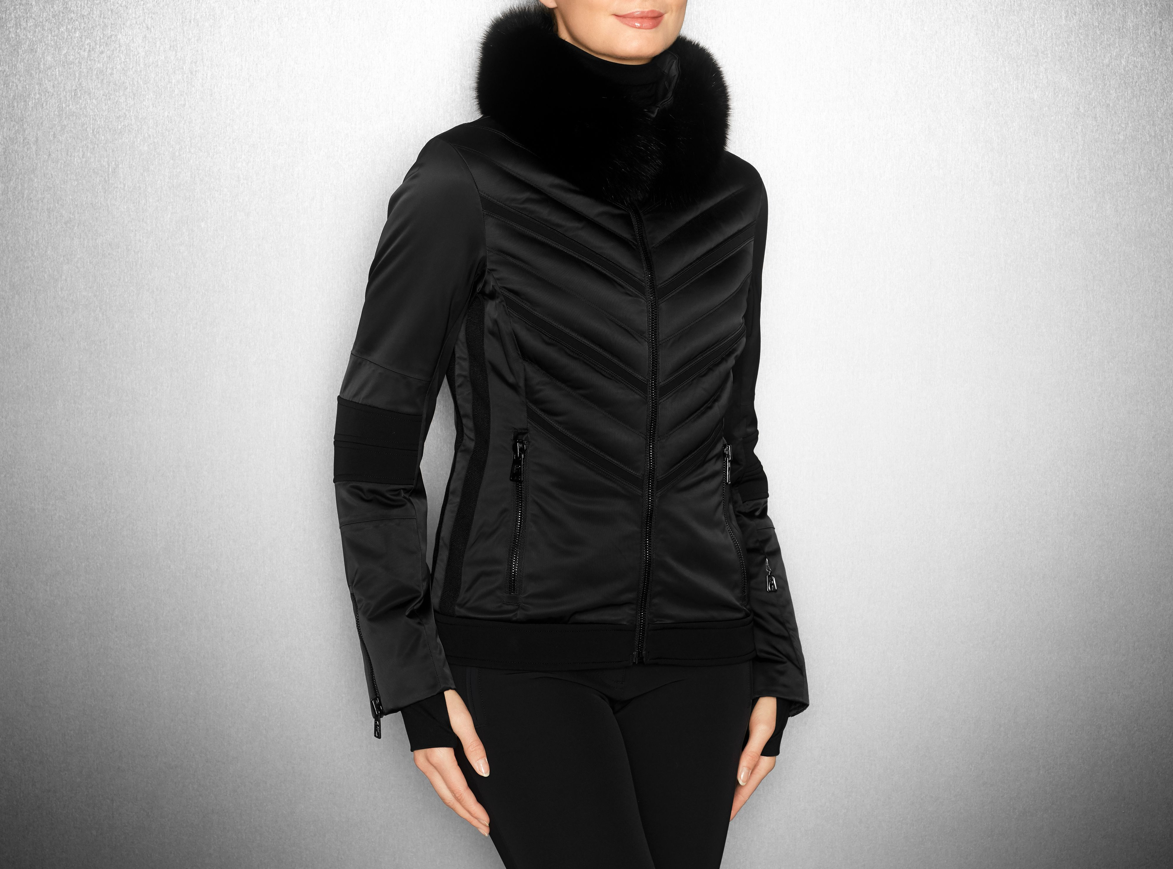 Toni Sailer - MILA fur black - Collection - Women  b700ded52