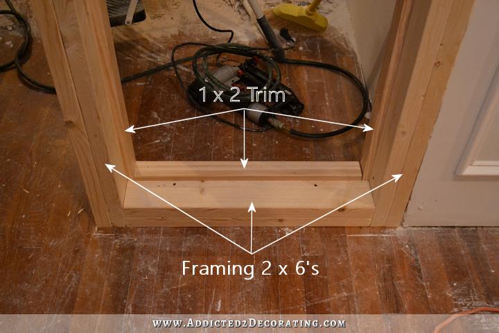 Stationary Built In French Door Panels Interior Window Trim Interior Design Degree Panel Doors
