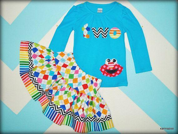 AGE Rainbow Elmo Set by Xannazoo on Etsy, $48.00