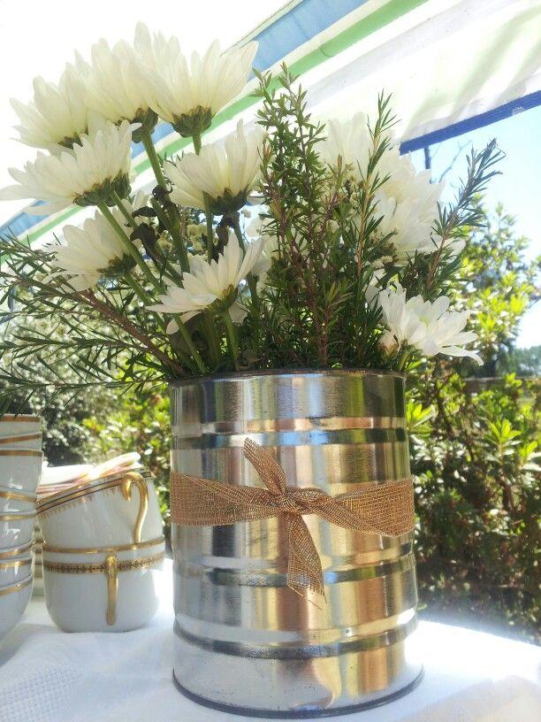 Bautizo. Flores