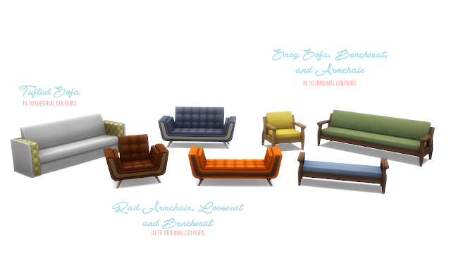 Simsational Designs: Get Famous Expanded Seating - 7