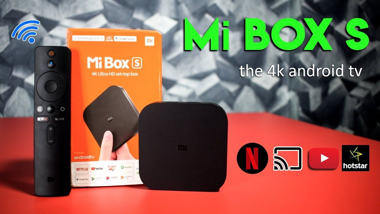 Xiaomi Mi Box S 4K Android TV With Chrome Cast Make your