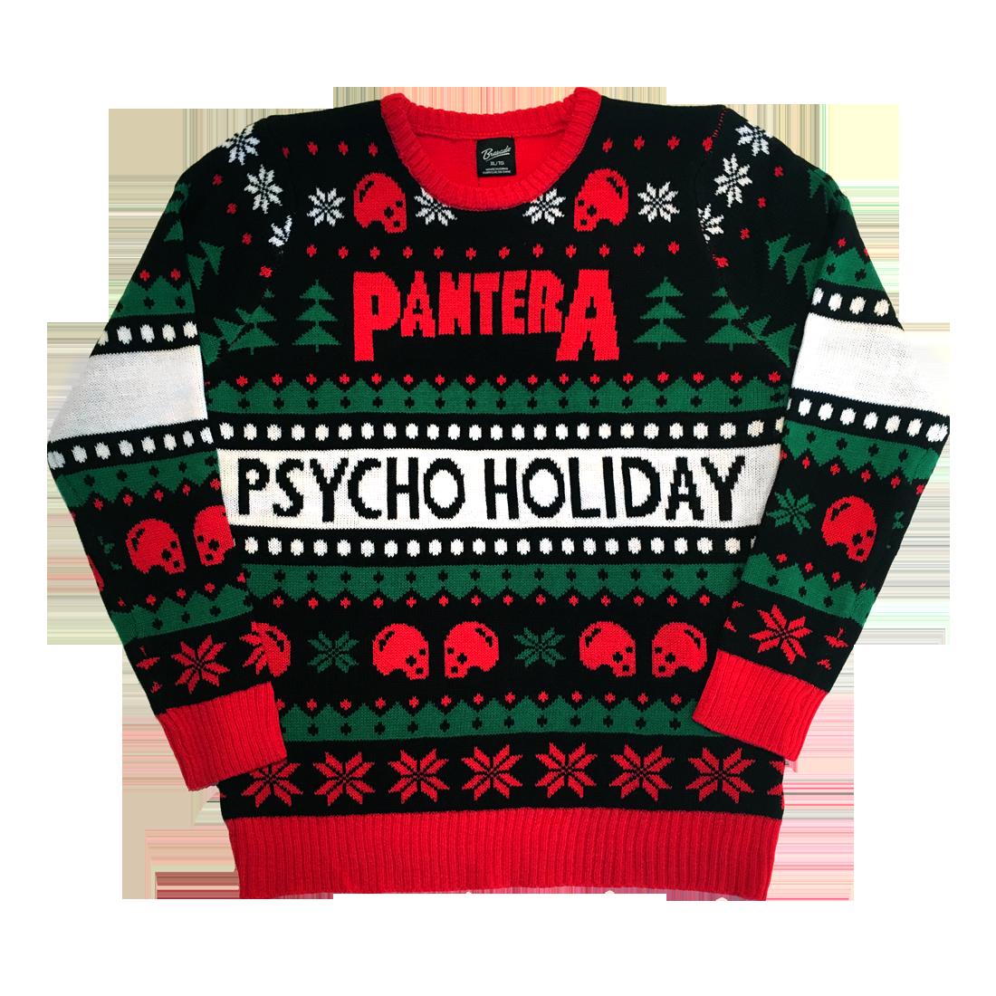 Pantera Holiday Psycho Holiday Sweater 48 Maglioni