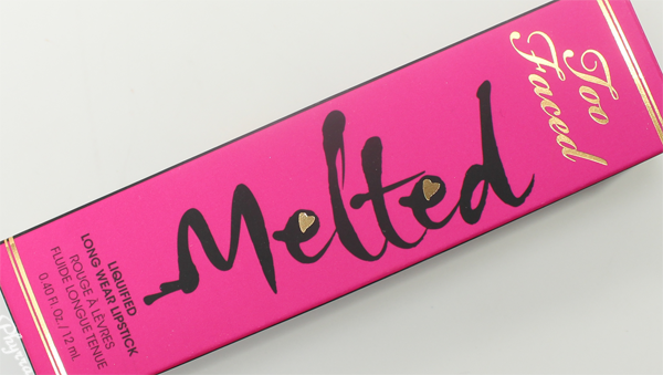 Too Faced Melted Liquified Long Wear Lipsticks Review