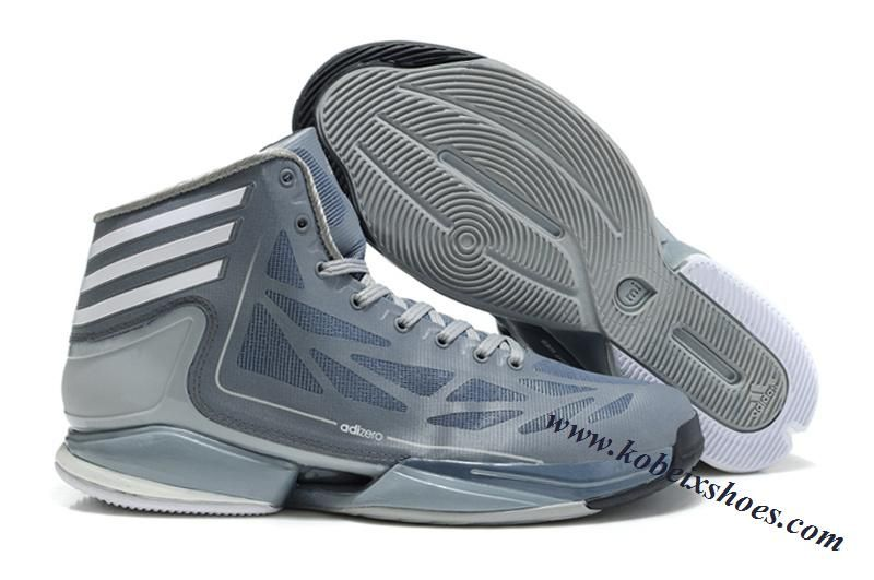 the best attitude 219f0 65081 Adidas Adizero Crazy Light 2 Derrick Rose Shoes Gray