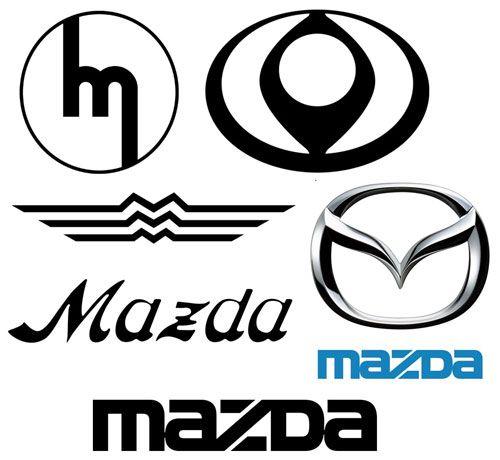 mazda logo history | mazda | pinterest | mazda, cars and rx7