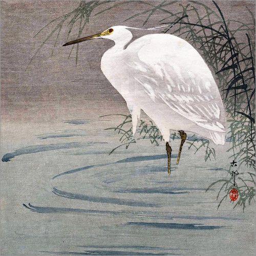 Ohara Koson Poster online bestellen | Posterlounge | Japanische kunst, Traditionelle japanische kunst, Japanische malerei