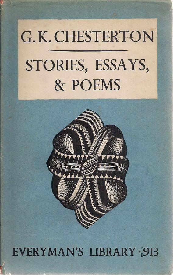 Storie Essay Poem G K Chesterton Good Hardcover Ebay Competition Book Gk Pdf