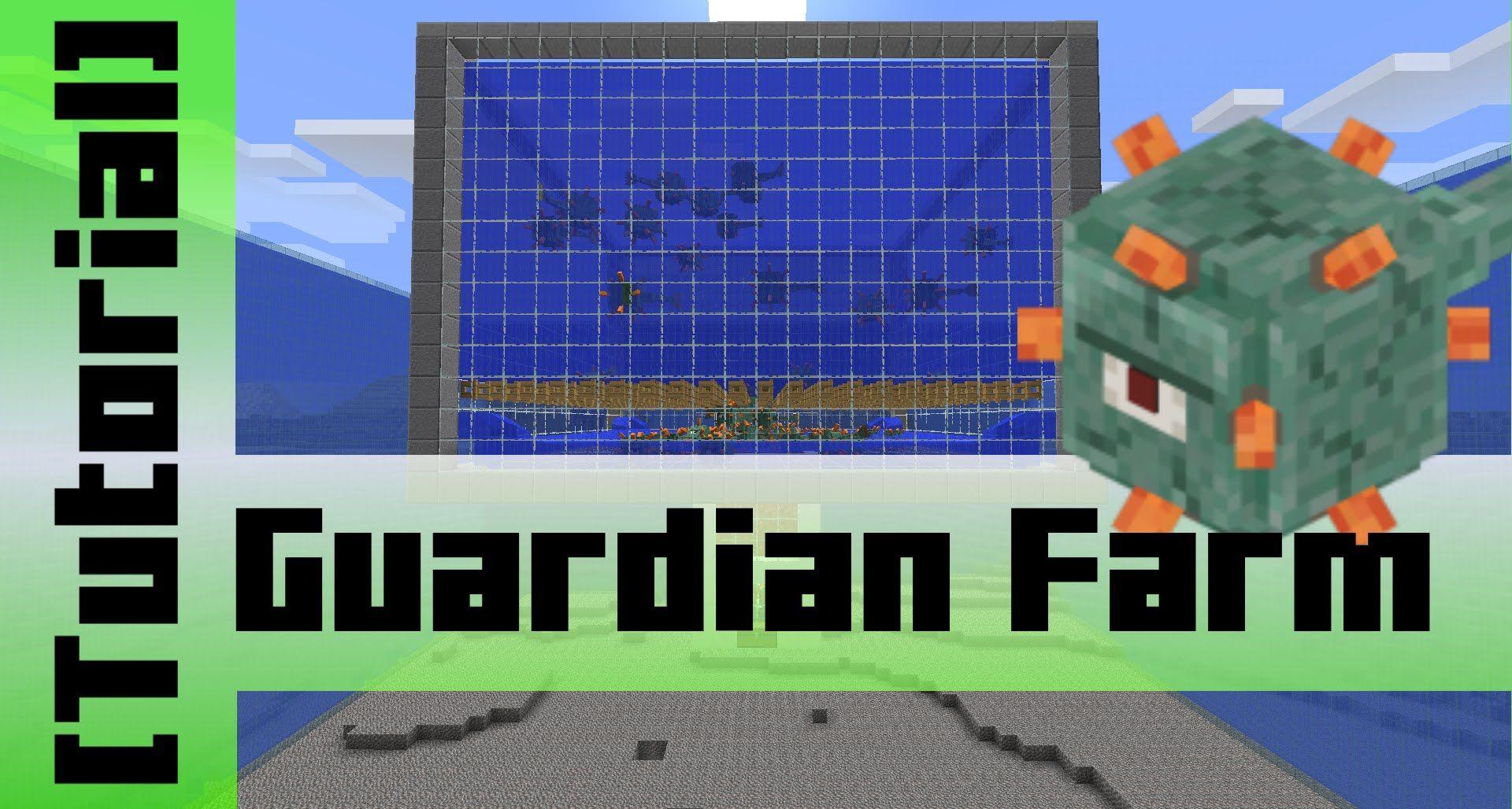Guardian Farm (15000 Items/h) [Tutorial] Minecraft 1.9