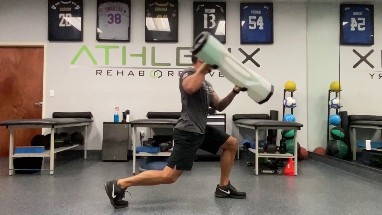 Bosu Surge Stability Workout Dr Reef From Athletix Rehab Youtube Stability Workout No Equipment Workout Workout