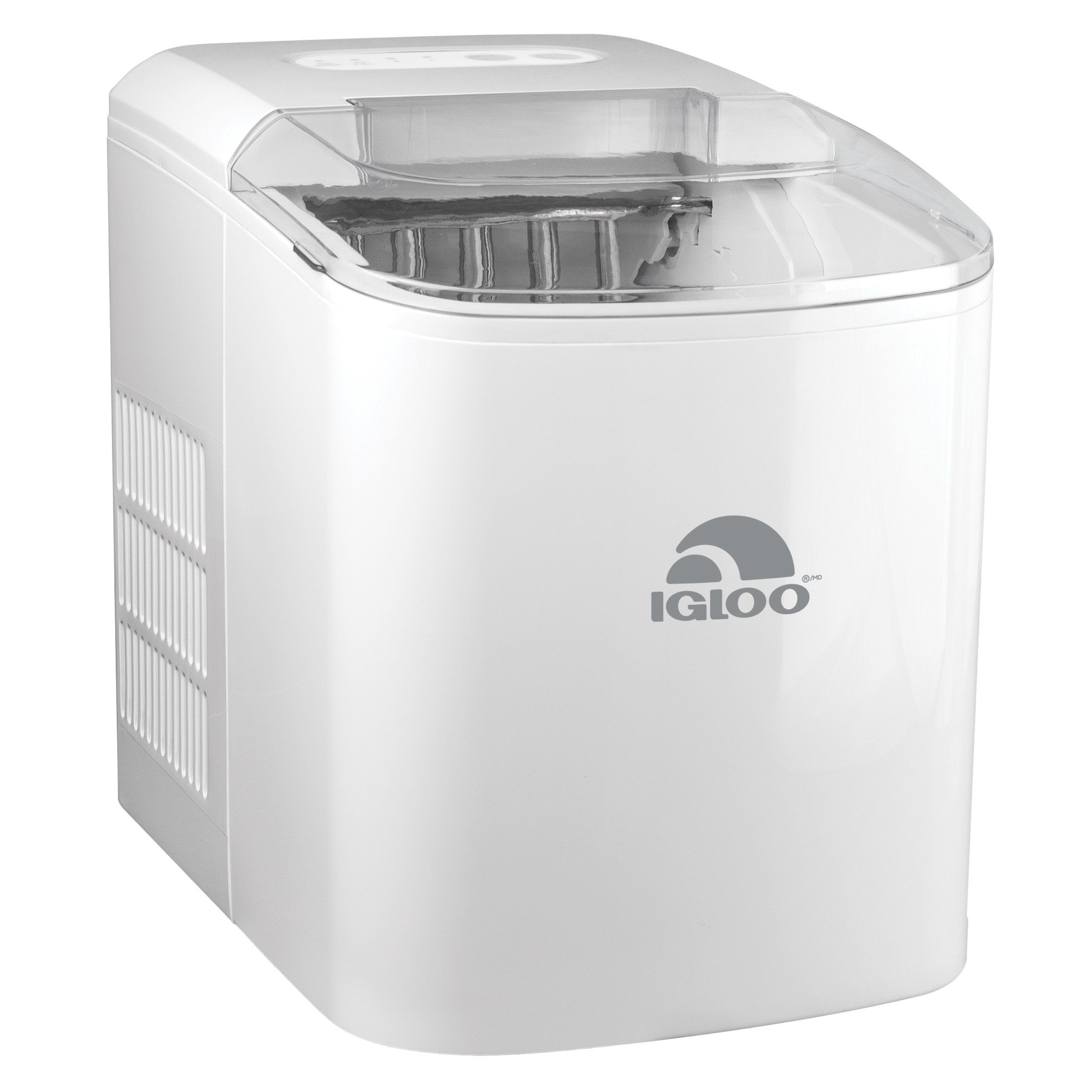 Igloo Iceb26wh 26 Pound Automatic Ice Cube Maker White Plastic