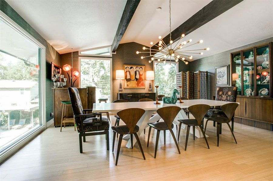 Eclectic Mid Century  Modern Dining Rooms  Pinterest  Mid Pleasing Mid Century Modern Dining Rooms 2018