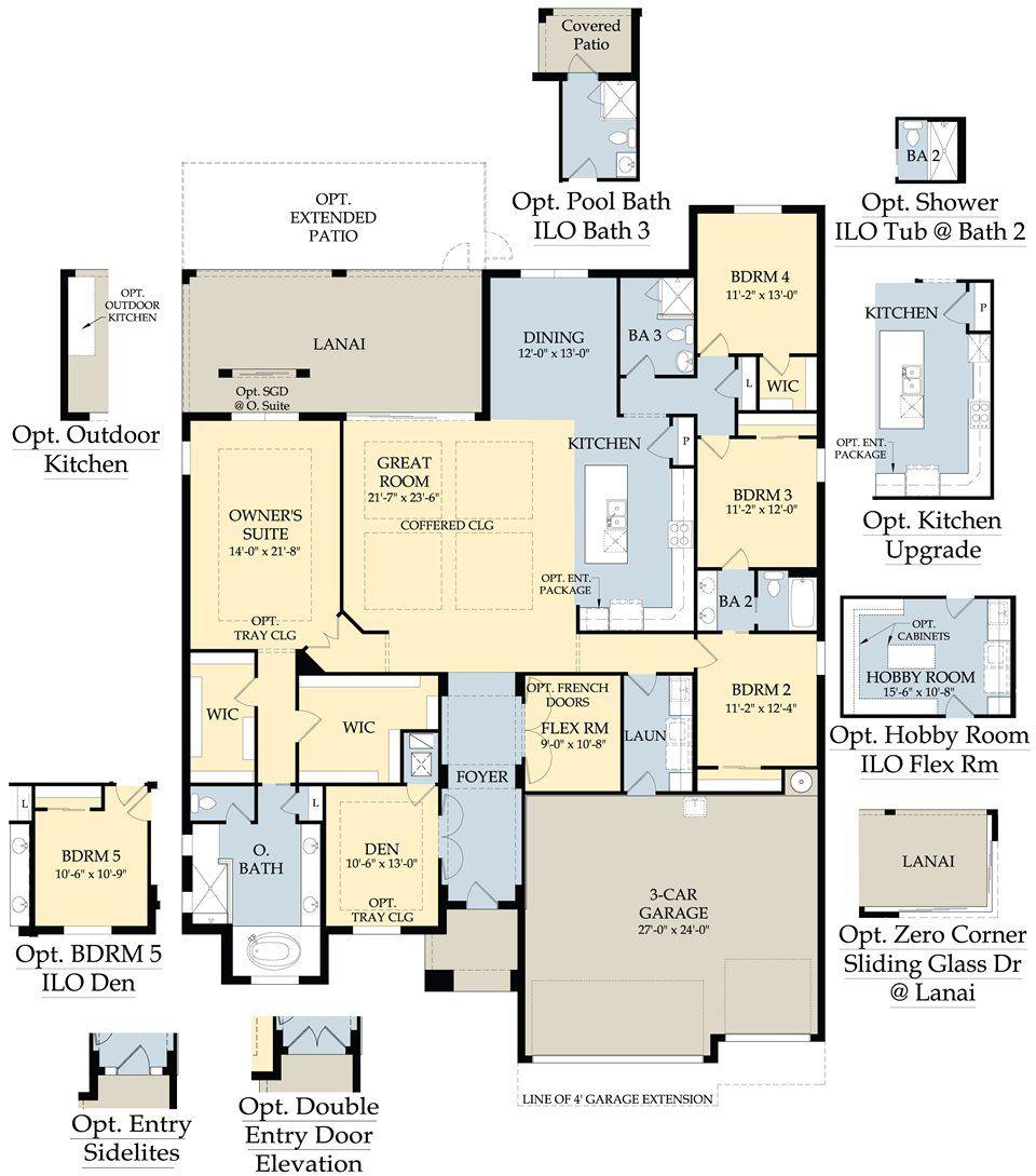 pulte homes plan menu floorplans pinterest