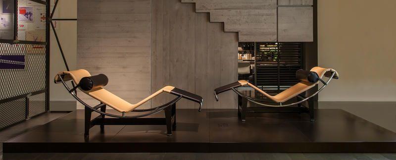 Un Hommage De Cassina Charlotte Perriand Loccasion La Collection Icnes 2014 Louis Vuitton