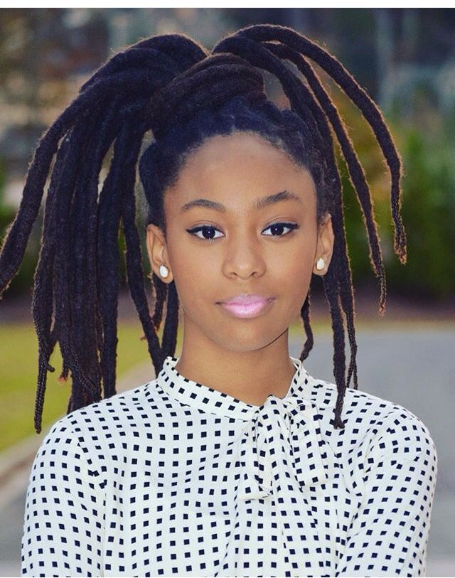 13 Year Old Actress Mstrinitysimone Beautiful Locks Children With Locks Teenagers With Locks Hair Styles Natural Hair Styles Locs Hairstyles