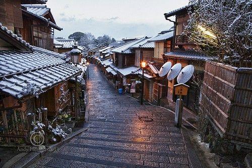 romantic and quiet alley
