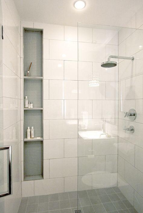 Shower storage inserts between studs Home Decor Pinterest