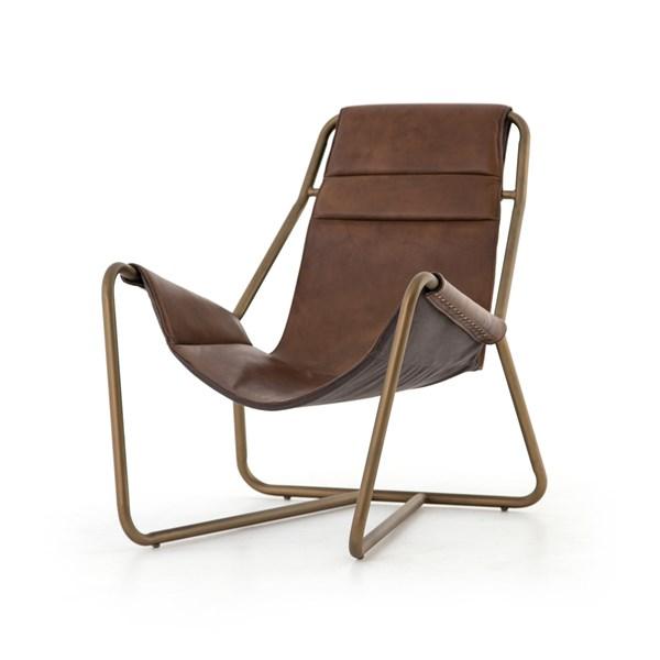 Living Room Vera Chair Patina Brown Top Grain Leather Leather Lounge Leather Lounge Chair
