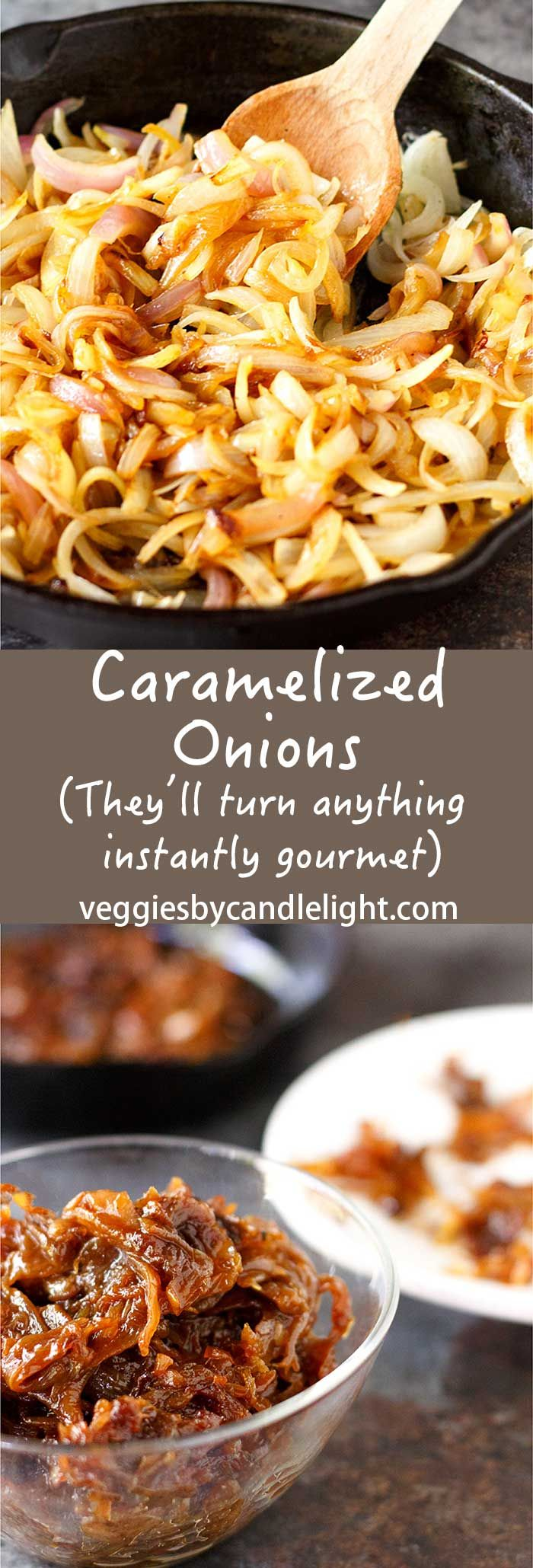 Caramelized Onions - Caramelized onions are tender, candy-sweet (yet savory) and…