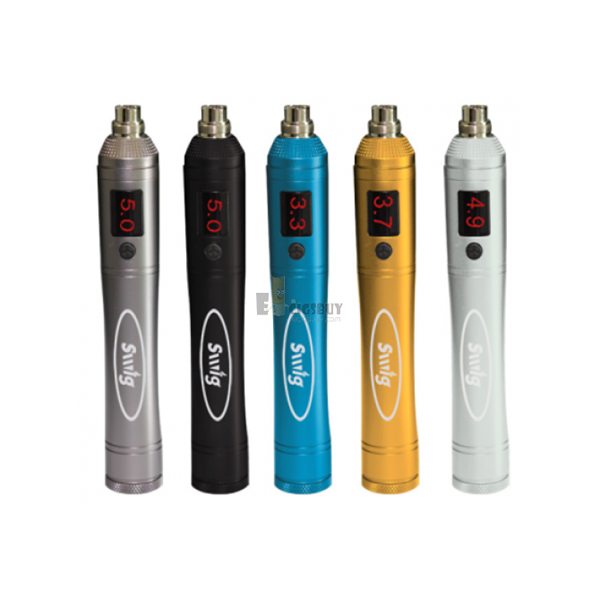This amazing variable voltage ecig is newest designed, use the best way of adjusting the voltage, easiest to operate, spin the knob on top of the control unit body, clockwise to increase the working voltage, anti-clockwise to decrease the working voltage.