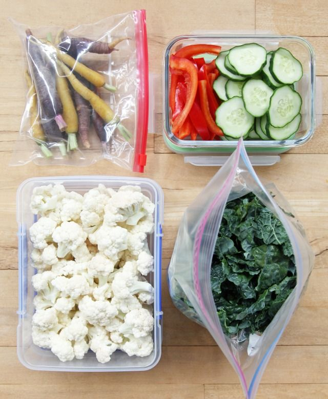 Keep vegetables fresh for longer, so you have more to eat and less to throw away!