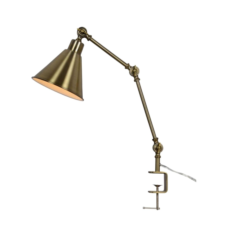 Aberny Reading Lamp Adjustable Edge Of Desk Clamped Table Light The Kings Bay Lamp Bookshelf Lighting Reading Lamp