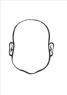 Voici un ensemble de visages vierges, de paires d'yeux, de nez et de bouches pour que les enfants composent eux même un visage rigolo :). ...