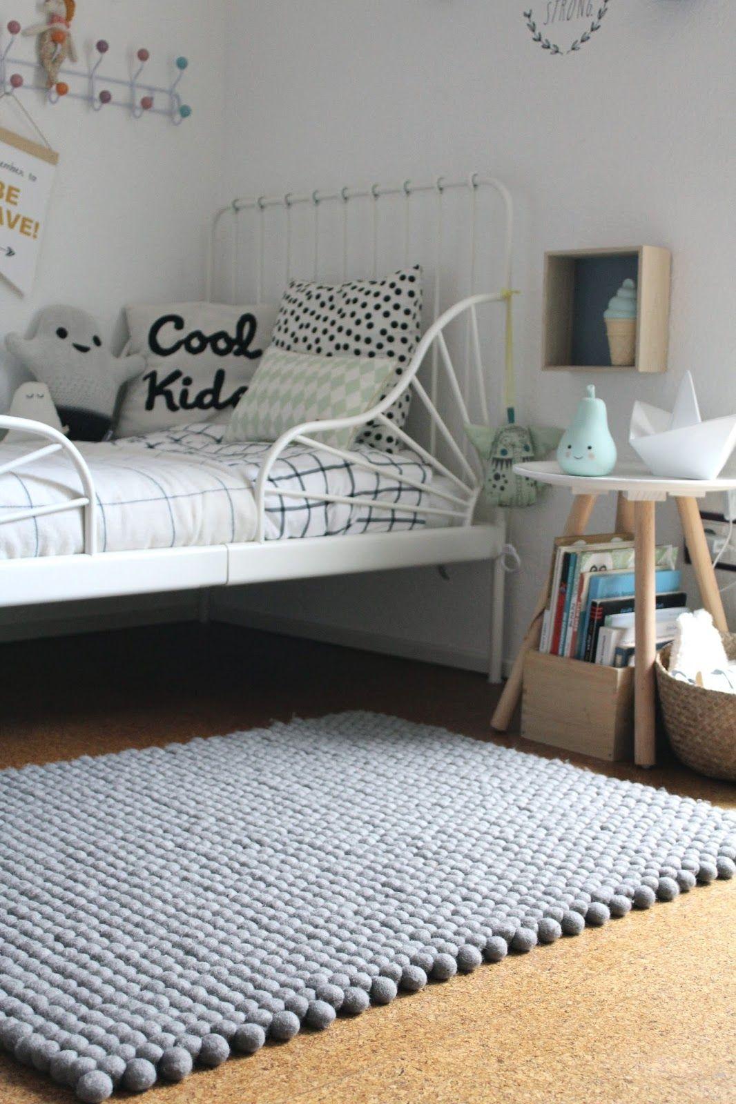 Werbung Made With Love Filzkugelteppiche Von Sukhi Kinder Zimmer Kleinkind Zimmer Zimmer
