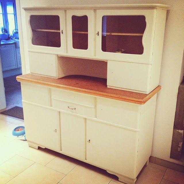Küchenbuffet DIY - aus alt mach neu Küchenbuffet, Cremeweiß und - küche lackieren vorher nachher