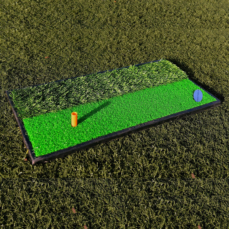 range dp izzo outdoors driving mat amazon mats com hitting golf durapro sports split
