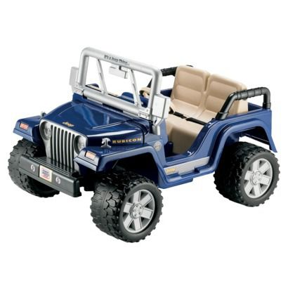 Fisher Price Power Wheels Jeep Rubicon Birthday 2 I Think So