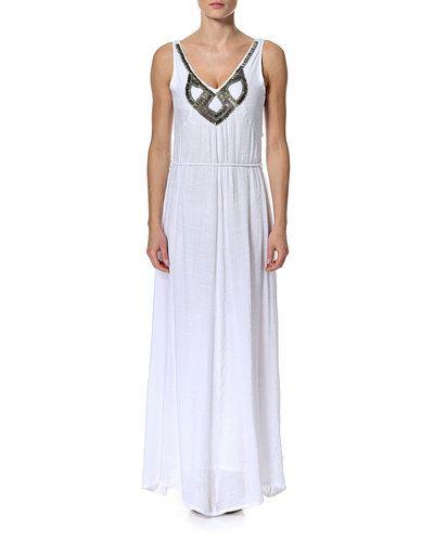 OBJECT SOYA DRESS 73 – kjole – Hvid