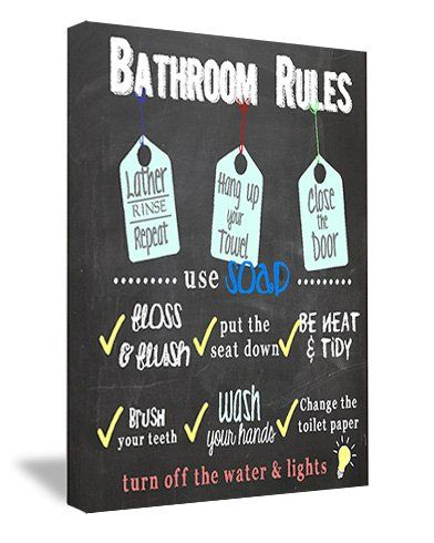 Could Adjust A Little And Use For Playroom Bathroom.