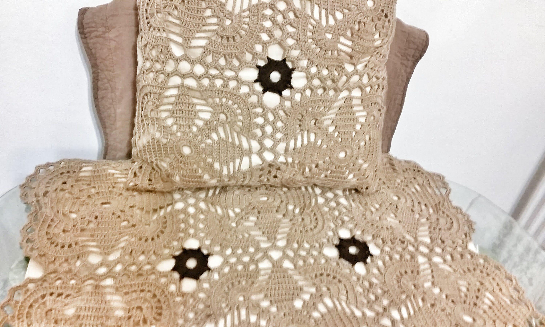 Cuadro para colcha en crochet paso a paso crochet - Colchas de crochet paso a paso ...