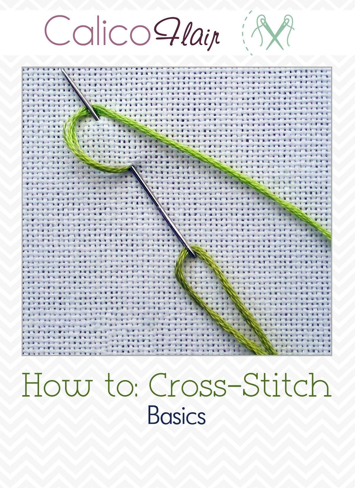 Free How to: Cross-Stitch Basics Tutorial