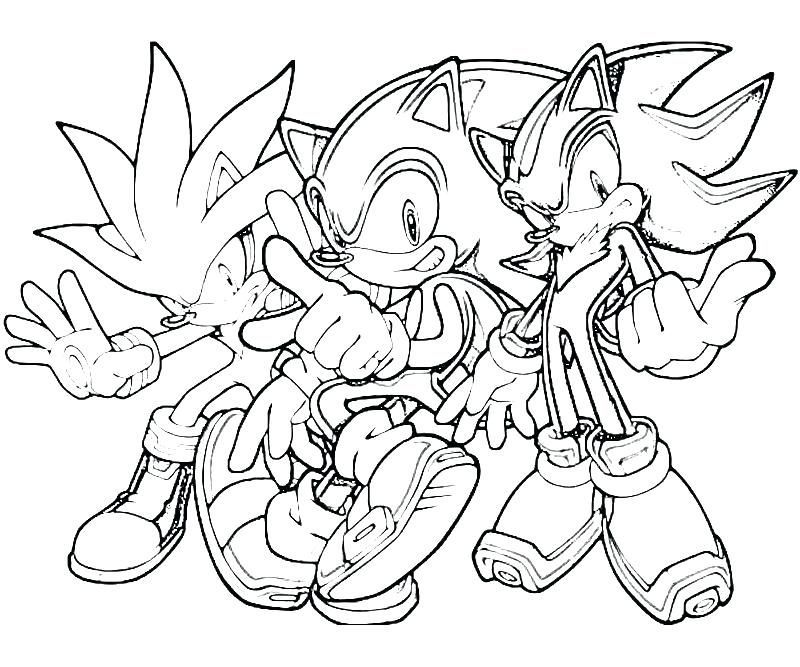 Sonic The Hedgehog Coloring Pages Sonic The Hedgehog Es Vicces