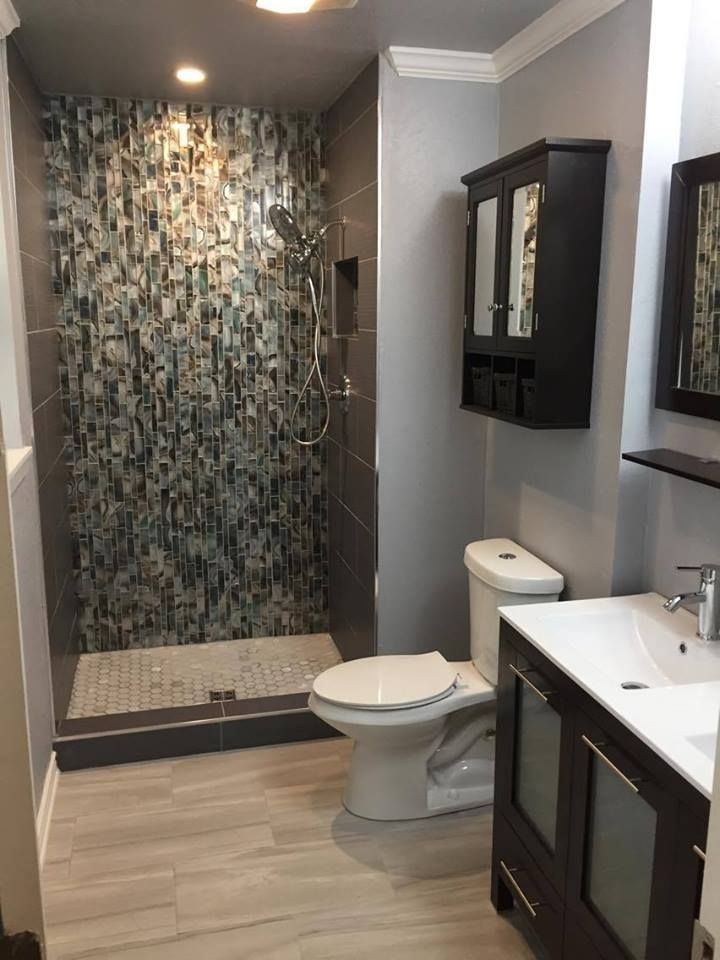 Shower With KERDIDRAIN Waterproofing Membrane Behind Tile - Bathroom membrane for tiling